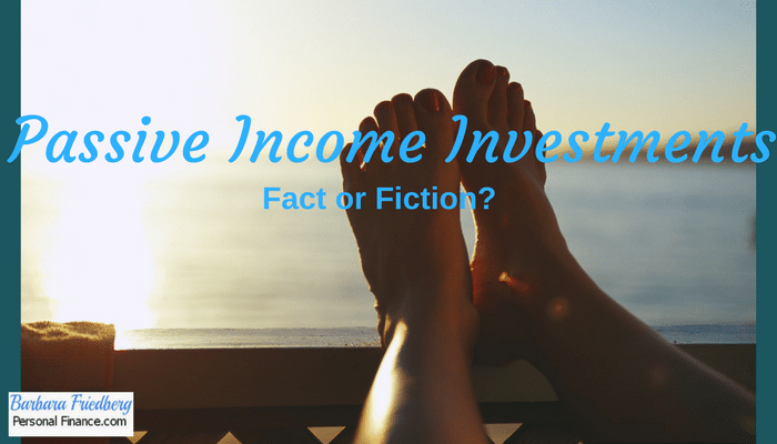 Passive income investing-Ideas to make money with passive income opportunities