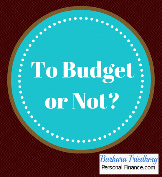 should i #budget or not?
