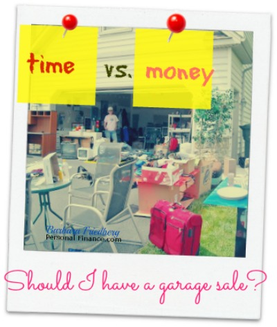 should i have a garage sale?