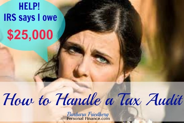 how to handle a tax audit