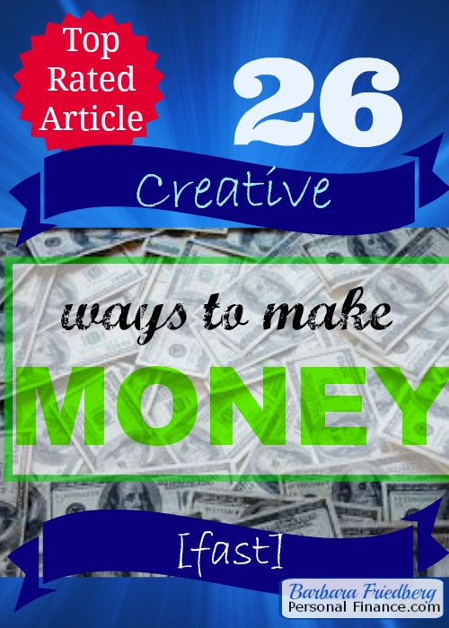 10 creative ways to make money fast