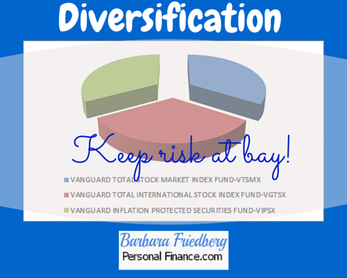 Minimize investment risk with diversification!