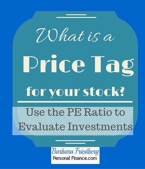 What is a PE ratio?