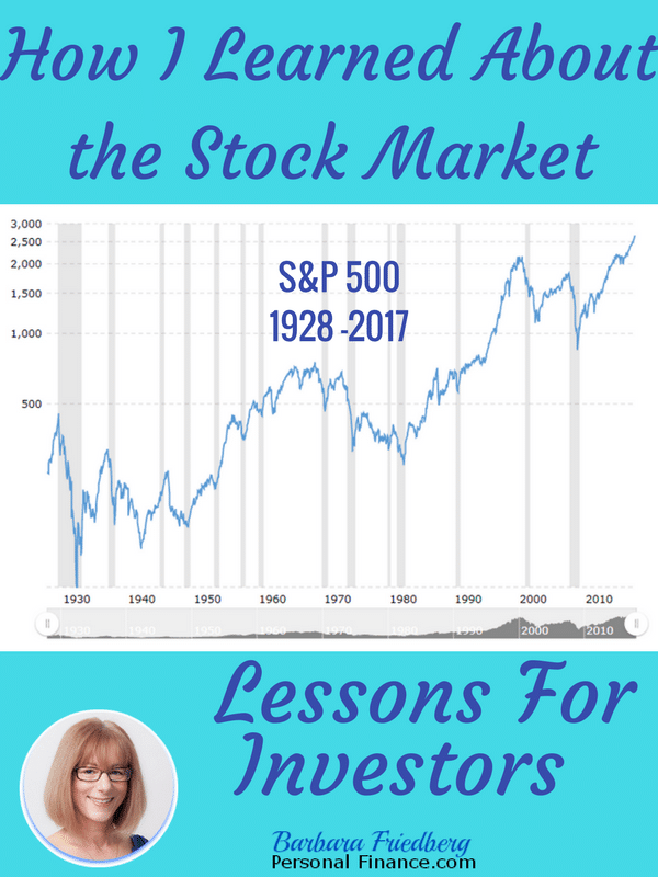 How I learned about the stock market - 90 year S&P 500 returns.
