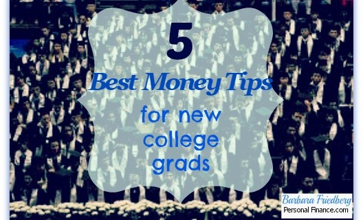 5 Money Saving Tips for New College Grads