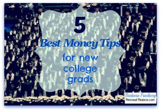 money saving tips for new college grads