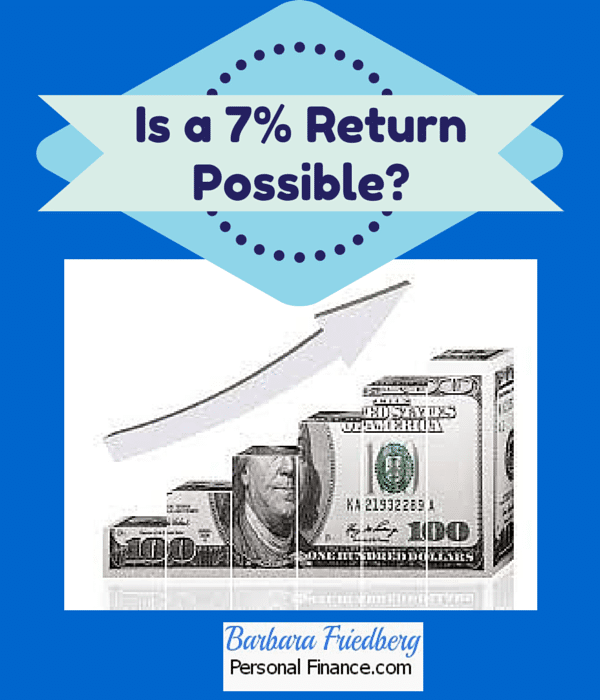 Is a 7% investment return achievable?