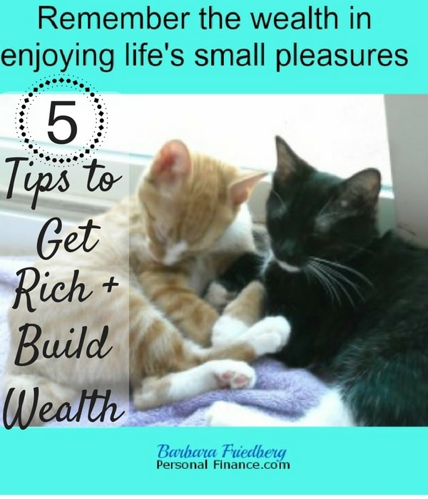 Tips to Build Wealth + Get Rich-Actionable wealth-building strategies