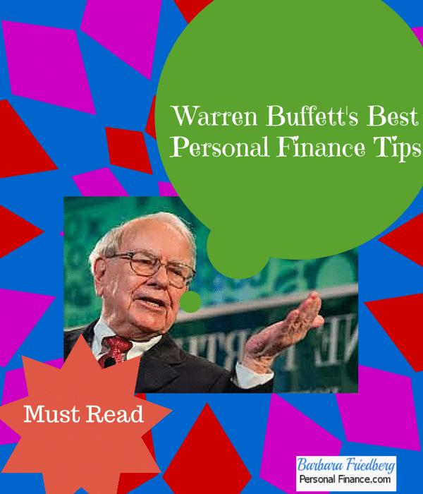 Warren Buffett_Personal Finance Tips_Reads