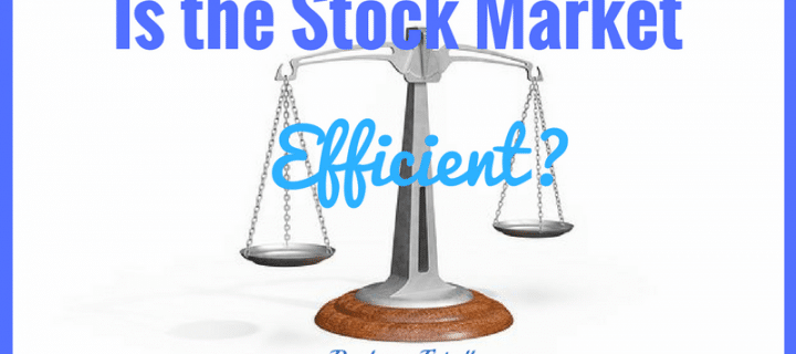 Are Stock Markets Efficient or Not?