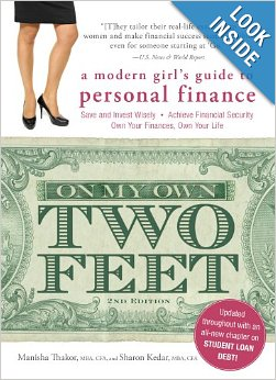 On My Own Two Feet-a modern girl's guide to personal finance