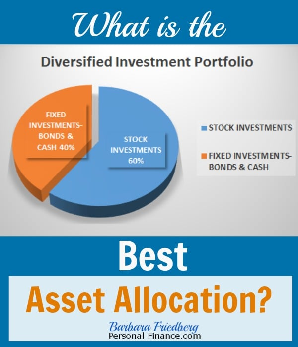 best asset allocation