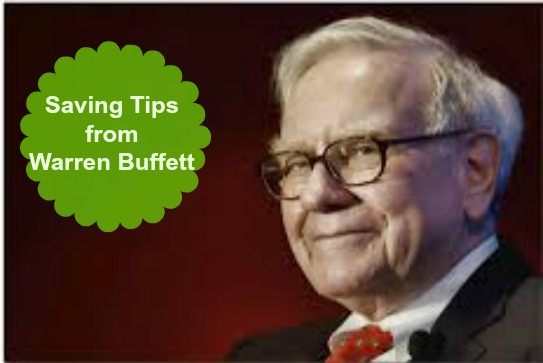 Saving Tips Warren Buffett