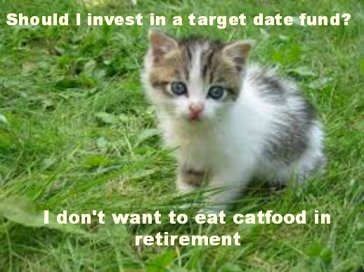 target date retirement funds