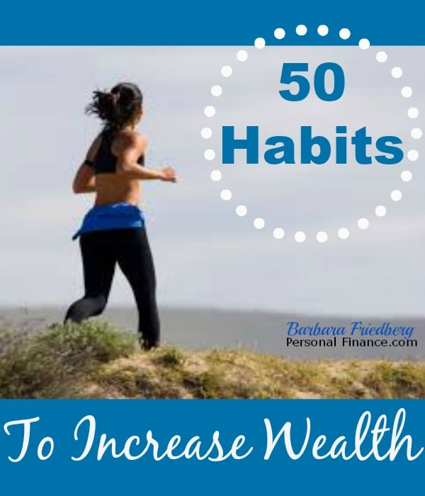 50 habits to increase wealth