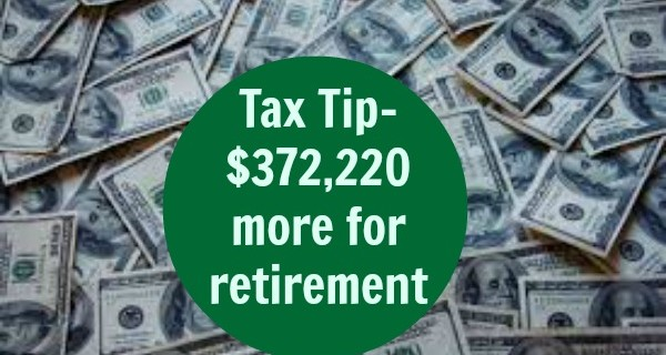 Top Tax Tip Worth $372,220