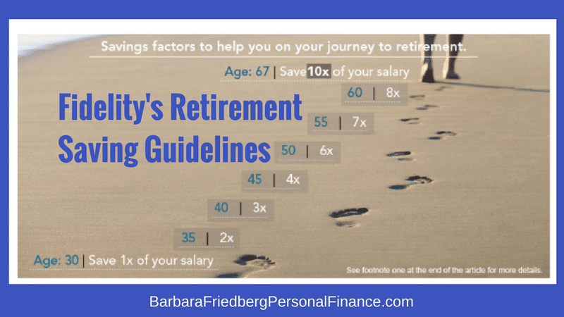 Fidelity's Retirement Savings Guidelines - Here's How Much