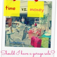 Is Holding a Garage Sale Worth It?
