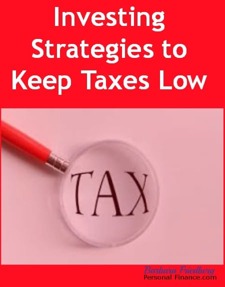 low tax investing strategies for high income