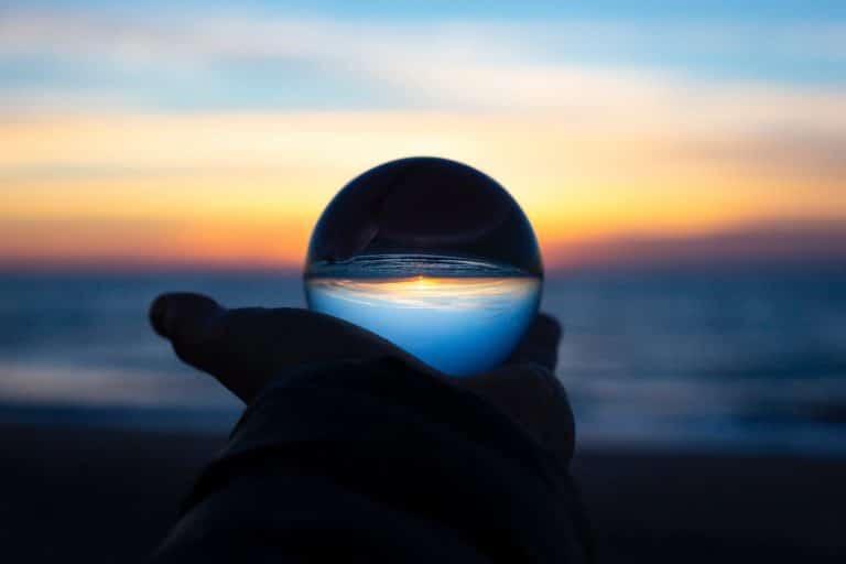 historical stock and bond returns - crystal ball