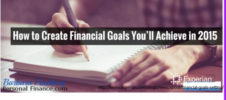 Create Financial Goals You'll Achieve with Experian