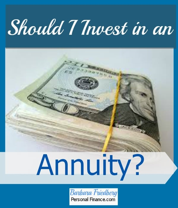 Should I invest in an annuity? Find out in plain language if an annuity is for you.