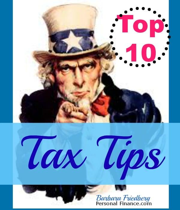 Top 10 Tax  Saving Tips