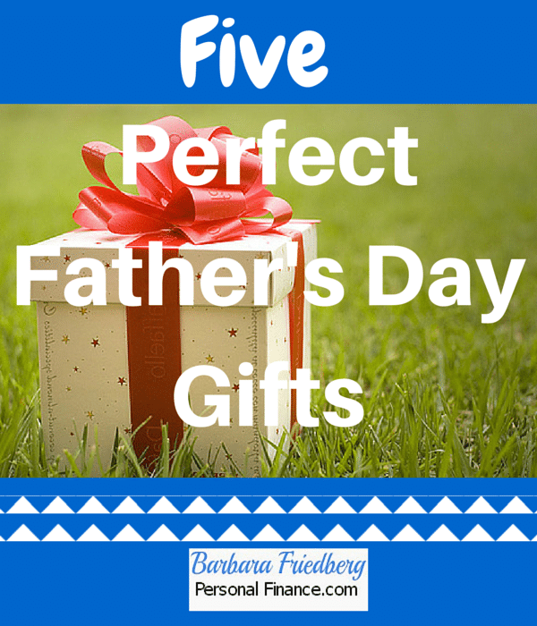 Perfect Father's Day Gifts-There's something here for every type of Dad.