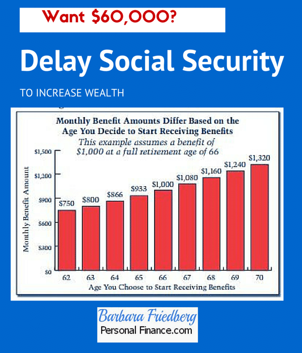 why delay social security benefits