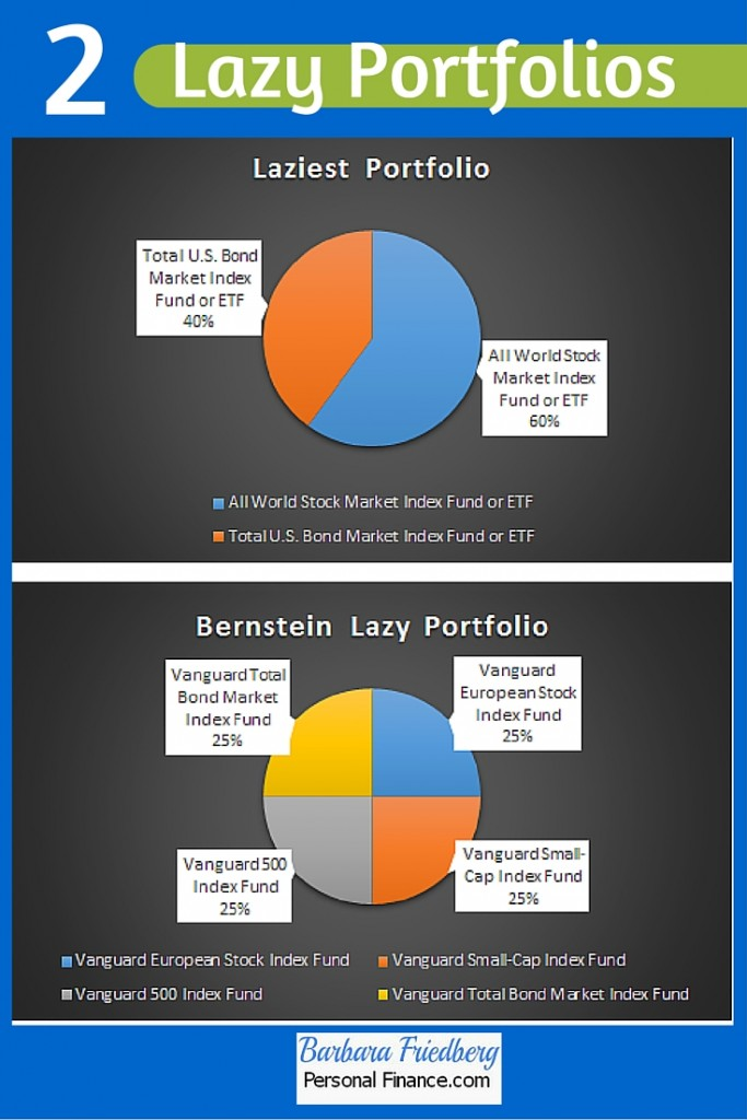 2 Lazy Portfolios-Laziest and Bernstein