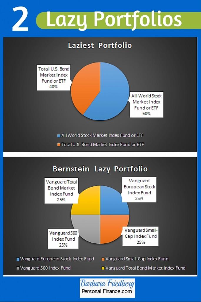 2 Lazy Portfolios-Laziest and Bernstein