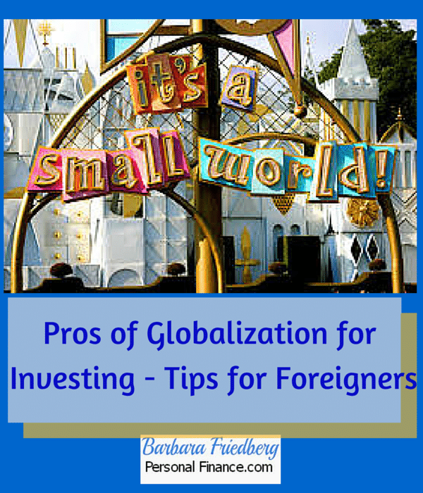 pros of globalization for international investors