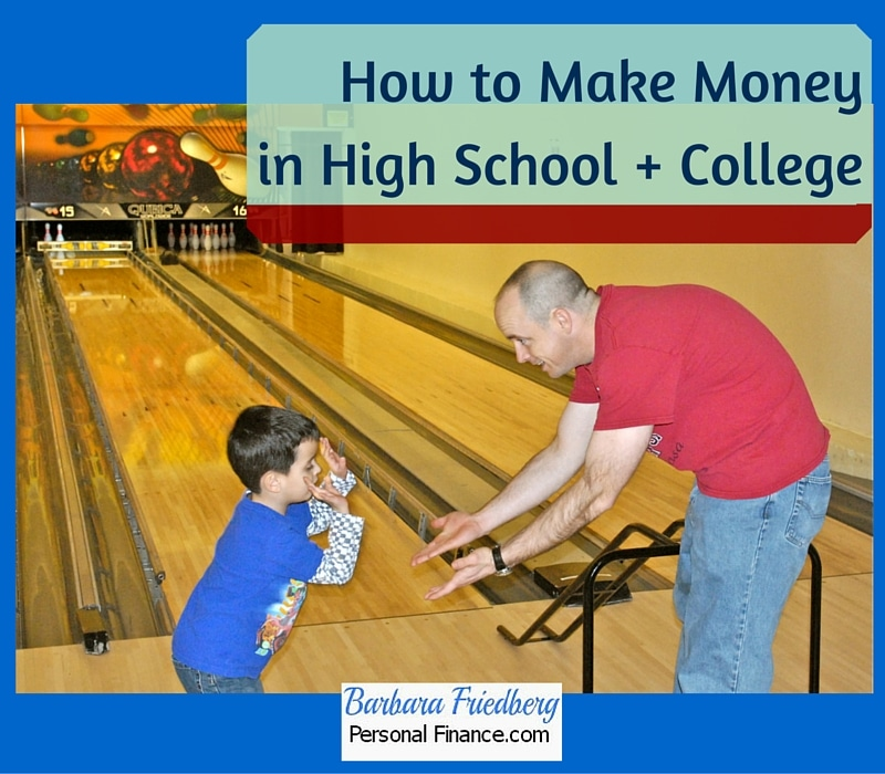 How to Make Money in High School and College. Find out here!