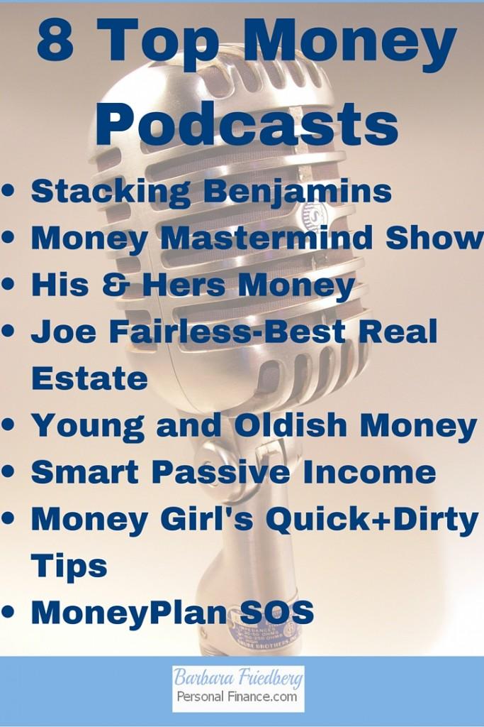 8 Top Money Podcasts
