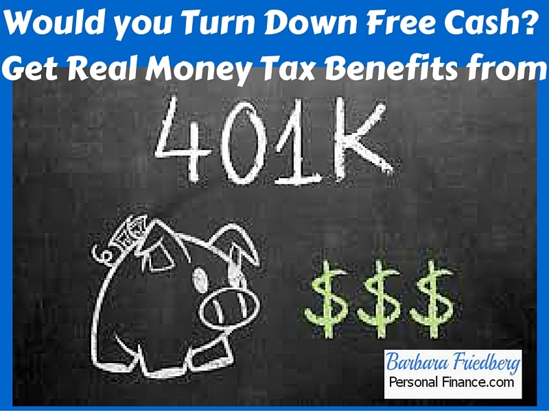 Tax Benefits of Investing in a 401k