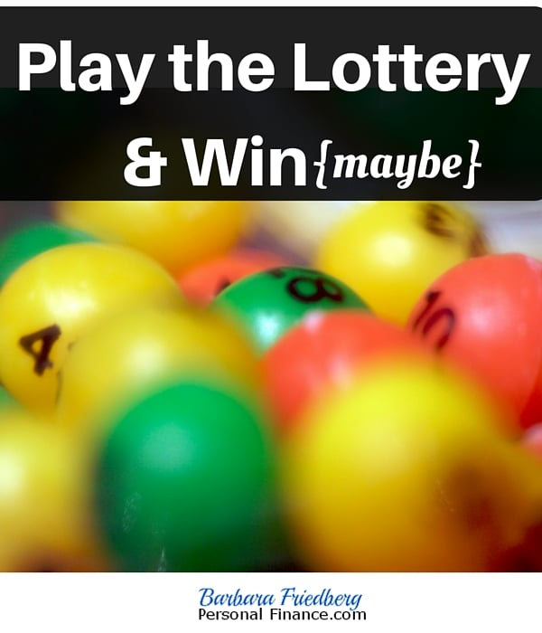 Best Way to Play the Lottery-You're going to be surprised