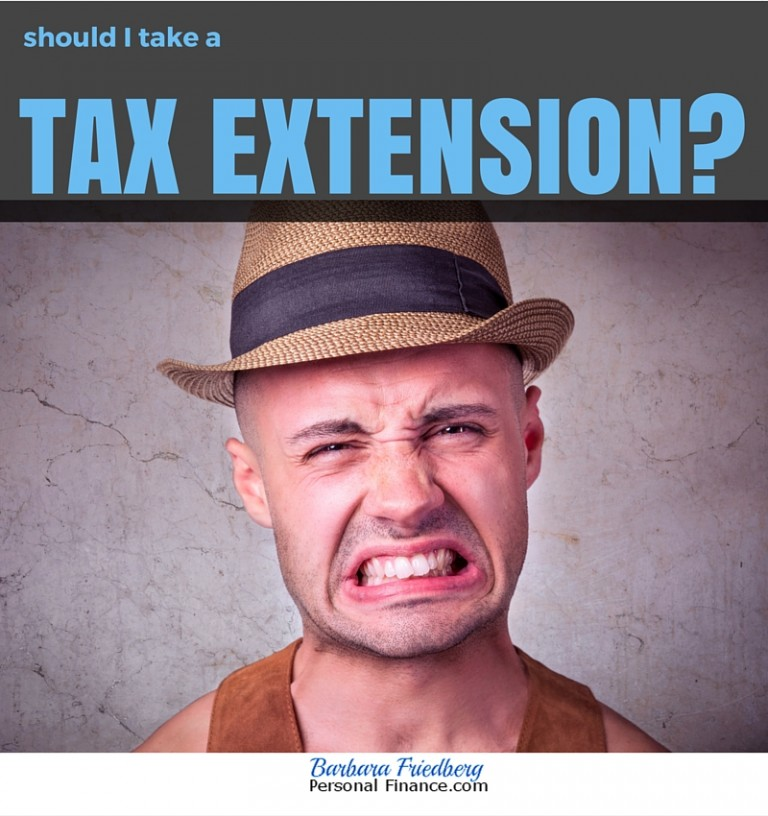Should I Take a Tax Extension?