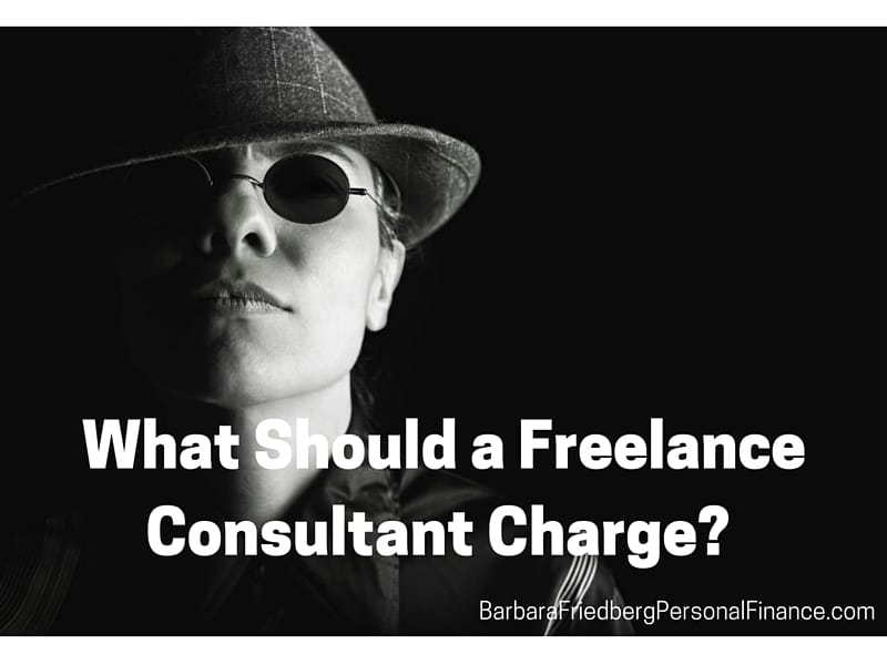 What should a freelance consultant charge?