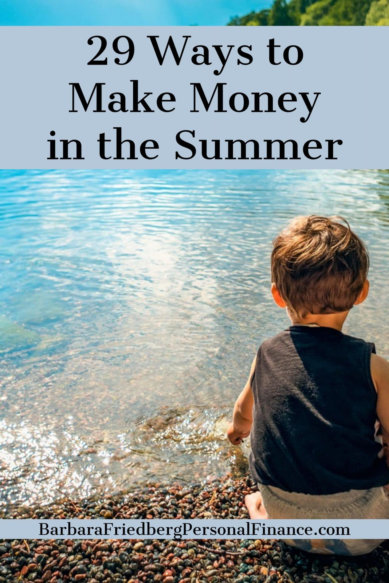 29 Fun Ways to Make #Money in the Summer-Work for yourself or someone else with these fun summer #jobs.