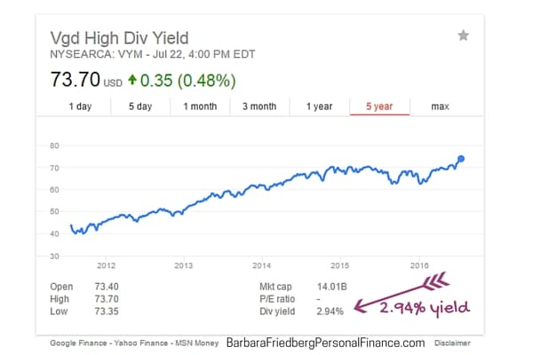 Where to get a high yield or dividend on my cash?