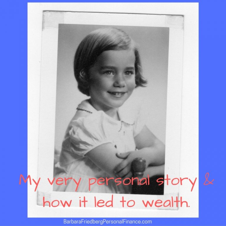 My personal story & how it leads to wealth. Learn how your mindeset can make you wealthy.