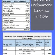Harvard Endowment Returns vs Passive Index Fund Investing – Which Approach is the Best?