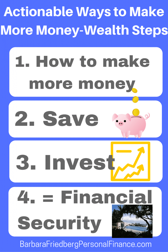 ways to make more money that work