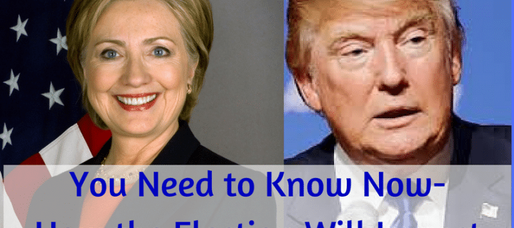 You Need to Know Now-How the Election Will Impact Investments