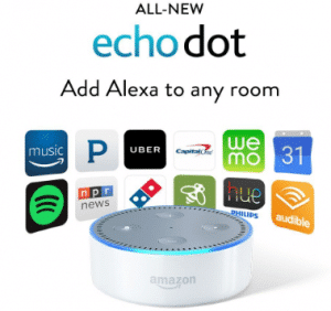echo dot money investing wealth building gift