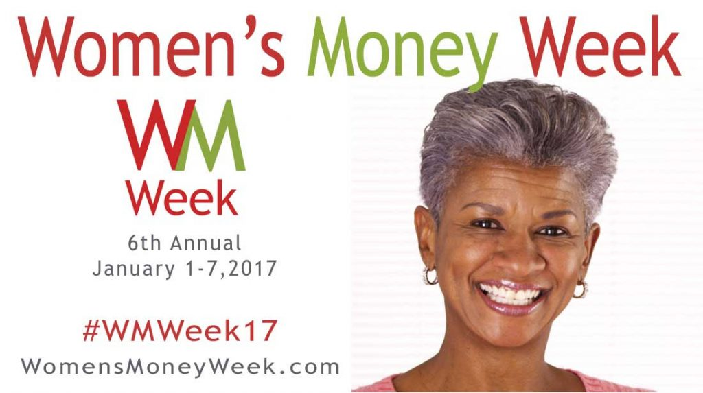 Women's money week 2017. Make this year your best money year ever.