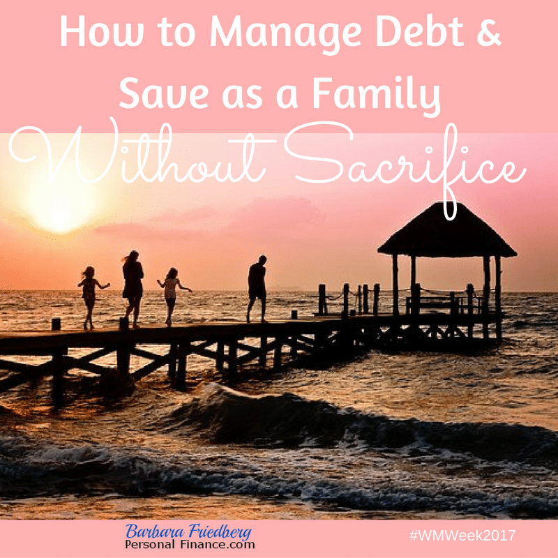 How to manage debt & save as a family using behavioral finance strategies