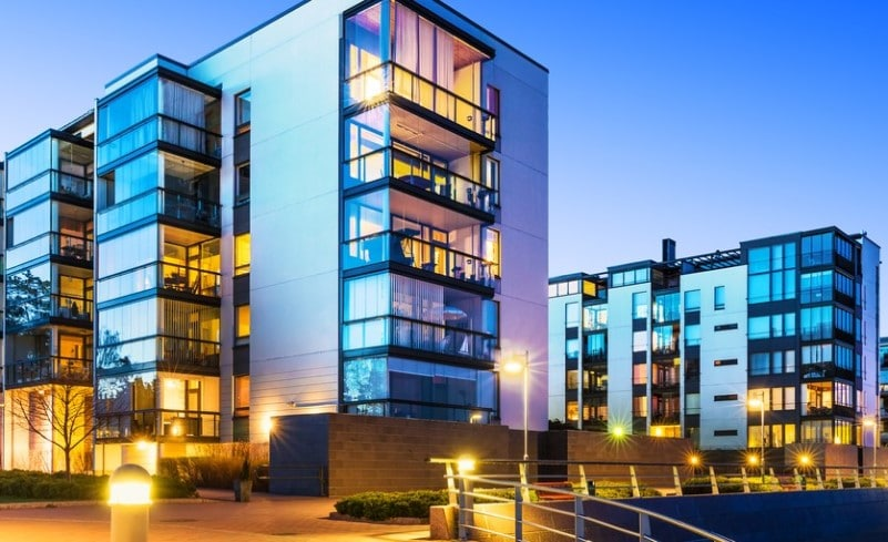 modern real estate high rise