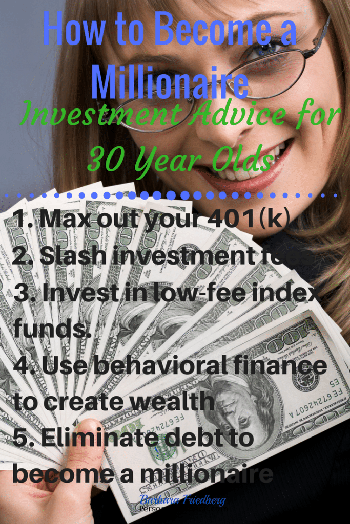 How to Become a Millionaire - 5 Investment tips for millennials in their 30s