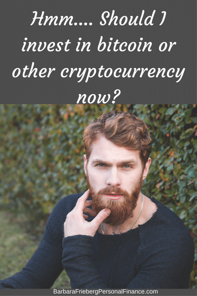 Should I invest in bitcoin or other cryptocurrency? Find out what the experts think.
